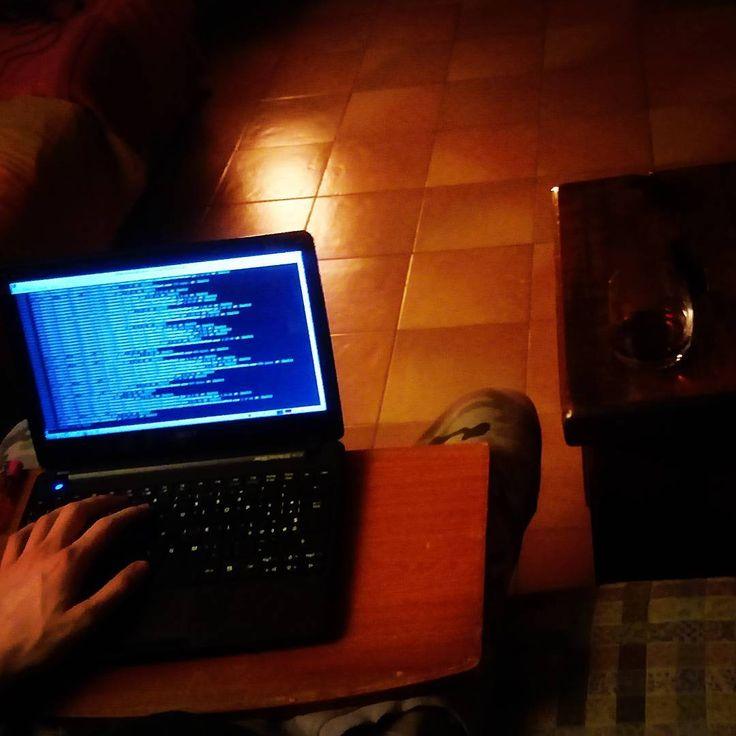 The ancient sofa coding tradition . . . .  #coding #codinglife #nomatter #nomatterwhat #software #sofa #wine #wonderland #webpack #runtime #javascript #reactjs #relax #lovewhatido #taskomat #startuplife #freelance #freedom #programming