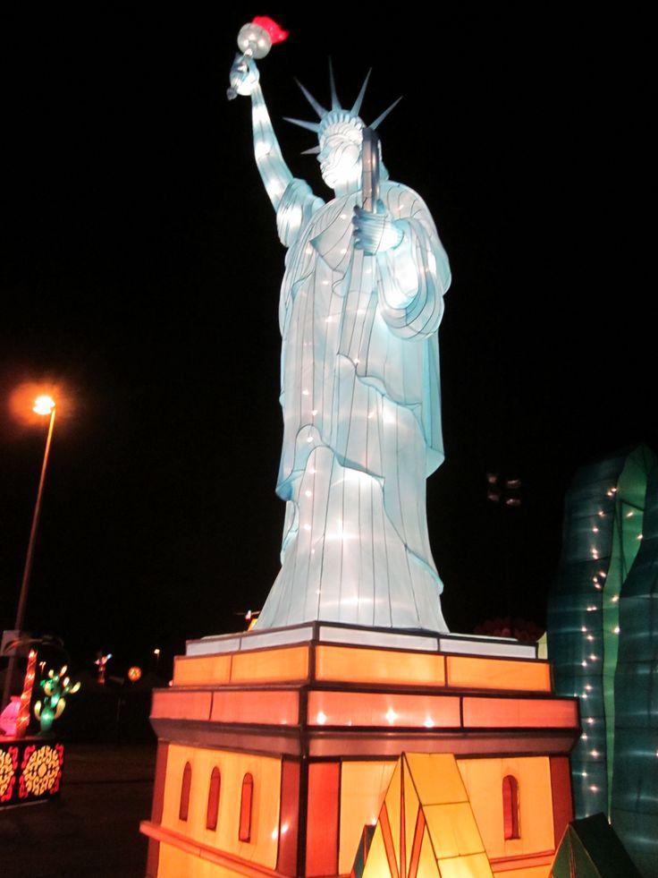 images of global winter wonderland | Statue of Liberty - Global Winter Wonderland - Santa Clara, CA Image