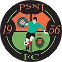 PSNI FC of Belfast, Northern Ireland crest.