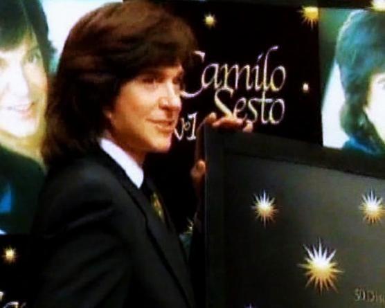 Camilo Sesto y la presentación de Camilo Sesto Nº 1