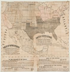 Newly discovered anti-slavery map: The maps, though made independently, are all drawn to promote the Republican Party in the 1856 election, when that party ran its first presidential candidate. The party's primary goal was to repeal the Kansas-Nebraska Act, which effectively opened the potential for slavery to extend into the American west.