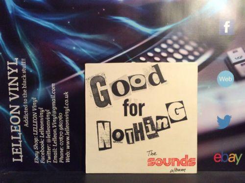The Sounds Album Good For Nothing LP Album Vinyl Record SOUND1 Rock Punk 70's Music:Records:Albums/ LPs:Rock:Other Rock