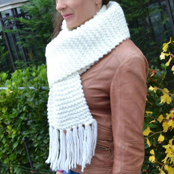 Womens Knitted Scarf.  #Scarf_Gift #Womens_Scarf #Knitted_Scarf #Chunky_Scarf #Fashion_Scarf #Long_Scarf #Winter_Scarf #Scarf_Handmade #Warmer_Scarf #Christmas_Gift #soft_scarf #sweater_scarf #oversized_scarf