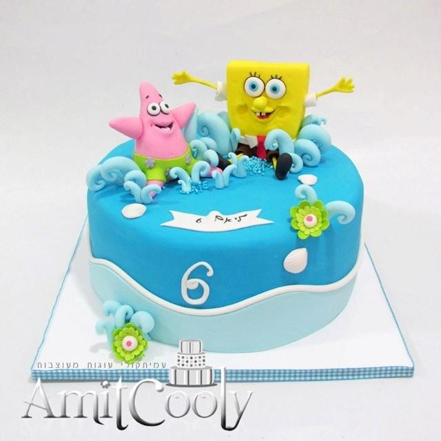 Sponge Bob Cake.