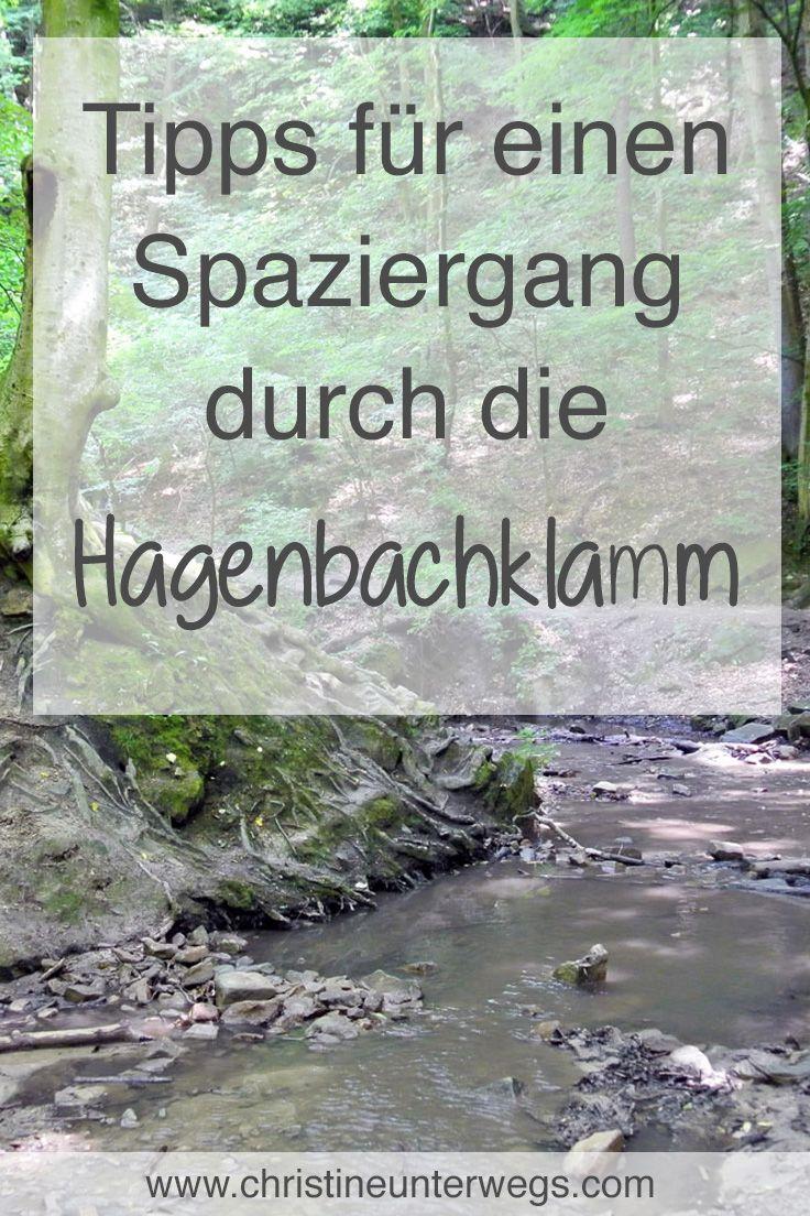 Meine Tipps für einen Spaziergang durch die Hagenbachklamm findest du hier: https://www.christineunterwegs.com/ausflug/spaziergang-durch-die-hagenbachklamm/