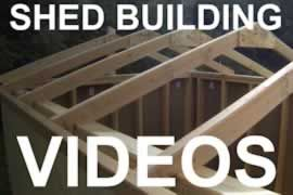 How To Build A Shed - Videos, Articles, and Plans. Storage Shed tutorials from iCreatables.com