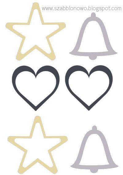 Free Christmas Patterns, Free Christmas Templates, Free Christmas Printables on szabblonowo