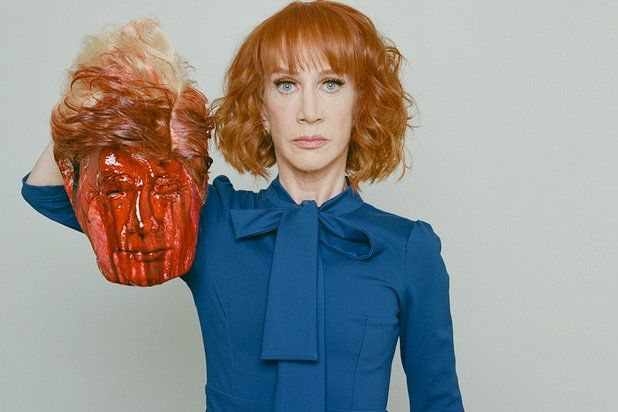 7 People Defending Kathy Griffin After Decapitated Trump Photo Shoot (Photos)   Griffin has been criticized from both the left and the right, but a few people are standing by her