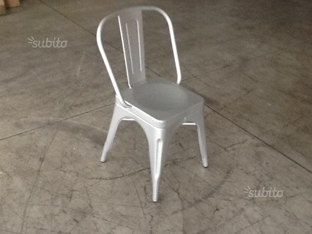 Sedia Tolix alluminio - Arredamento e Casalinghi In vendita a Milano