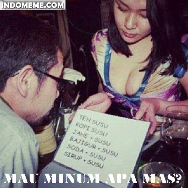 Mau minum apa mas? - #Meme - http://www.indomeme.com/meme/mau-minum-apa-mas/