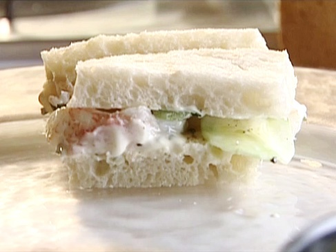 Lobster Sandwich with Lime Mayonnaise from CookingChannelTV.com