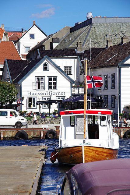 Harbor of Stavanger, Norway
