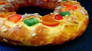 Roscón de Reyes... Anna recetasfaciles