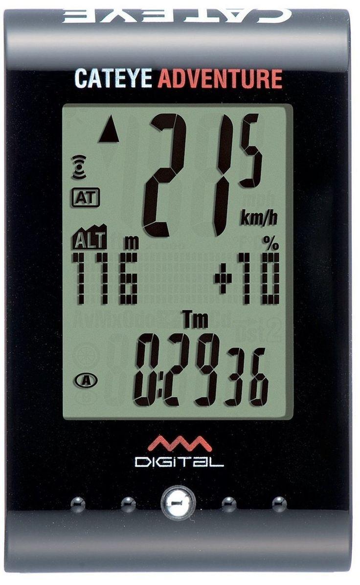 Cateye Adventure Wireless Altimeter Cycle Computer