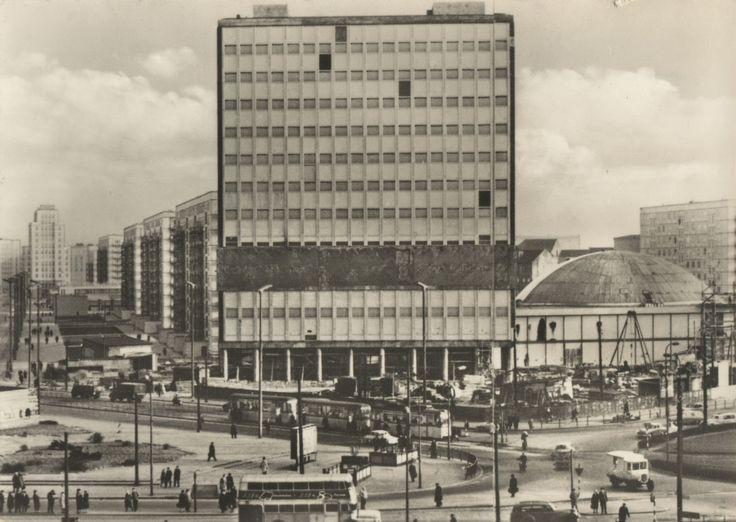 Alexanderplatz 1964 East Berlin West Berlin East Germany