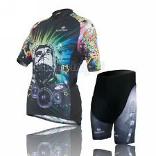 Cycling Bike Short Sleeve Clothing Bicycle Women Suit Jersey + Bib Shorts S-XXL