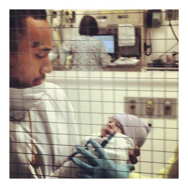 Tyga Blac Chyna Welcome A Baby Boy King Cairo Stevenson [Pictures] ❤ liked on Polyvore featuring parents