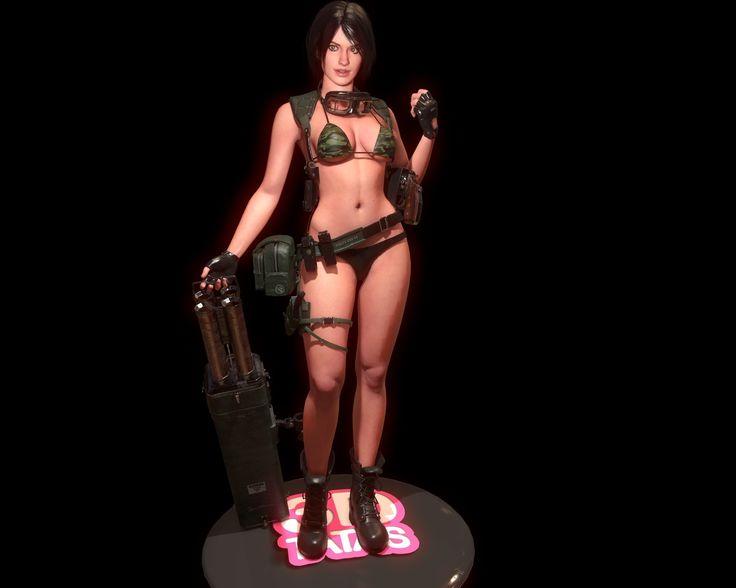 ArtStation - 3D Tatas: Tina, Tek Tan