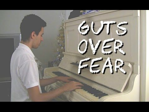 Eminem ft. Sia - Guts Over Fear (Piano Music Video Cover by ELIE)