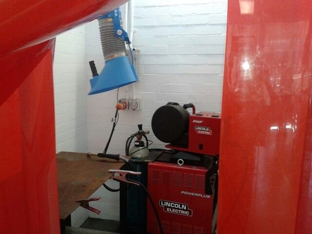 Only need 2 welding bays