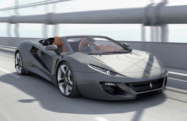 Aldo Schurmann's Ferrari FT12 Mid-Engine Concept - The Crosby luxury sports cars