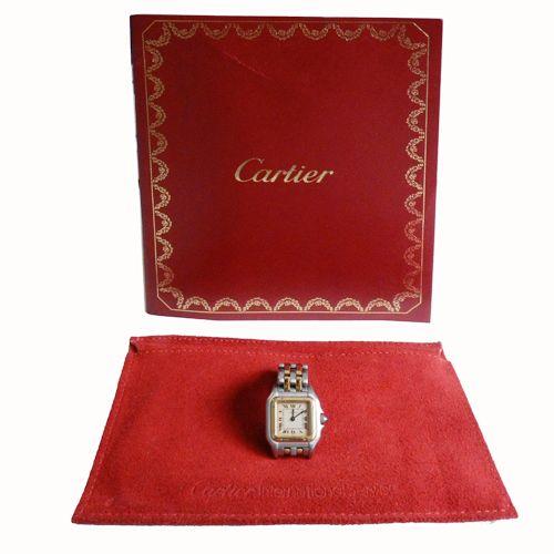 Entra en nuestra web y descubre las características de este exclusivo Cartier Panthere pm http://tinyurl.com/paa63c4 #Cartier #Altarelojeria