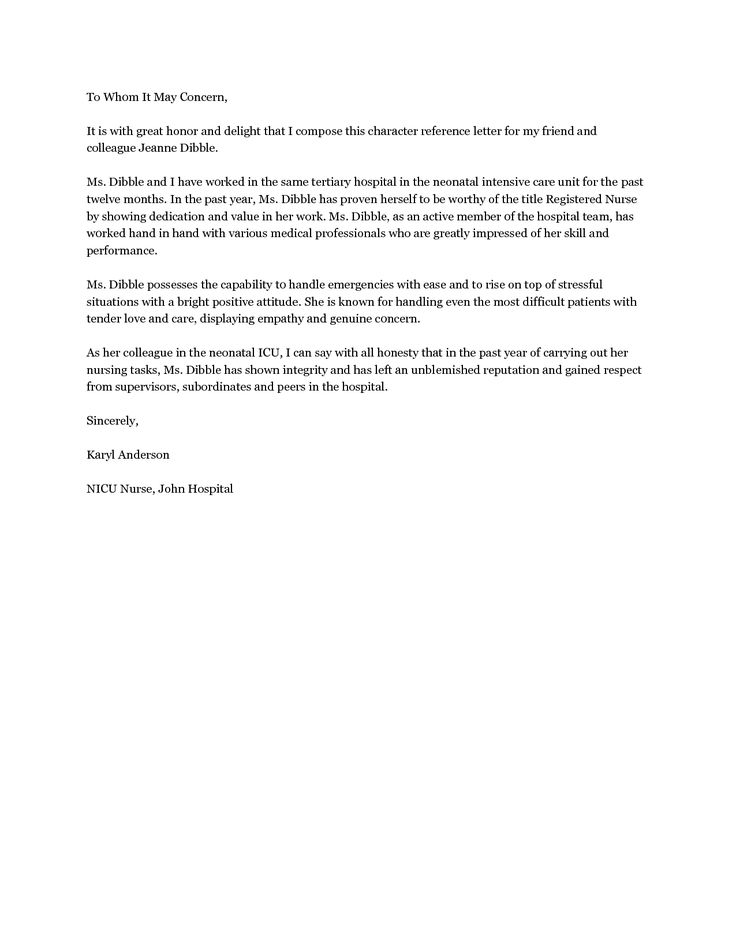 10 best Recommendation Letters images on Pinterest High school - letter of recommendation word template