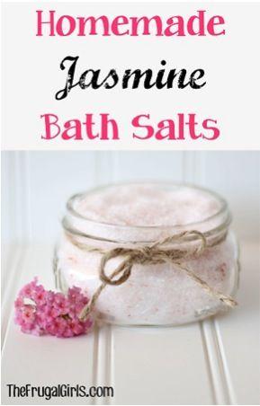 ... Jasmine Bath Salts | D.I.Y | Pinterest | Jasmine, Bath Salts and Salts