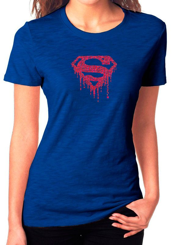 Hey, I found this really awesome Etsy listing at https://www.etsy.com/listing/226741239/supergirl-superman-ladys-womens-tshirt-t