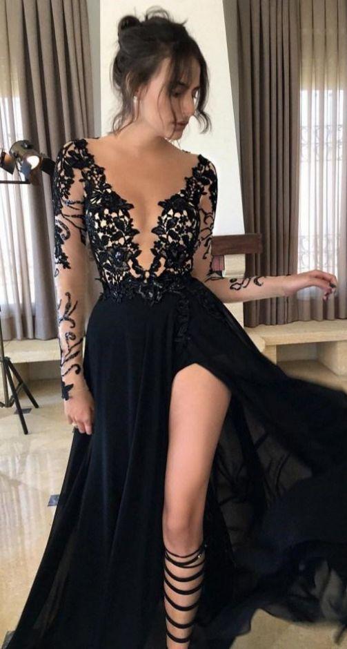 Prom Dress, Black Dress, Sexy Dress, Long Black Dress, Long Dress, Black Prom Dress, Sexy Black Dress, Sexy Prom Dress, Chiffon Dress, Black Long Dress, Long Black Dress With Sleeves, Black Dress With Sleeves, Dress With Sleeves, Black Chiffon Dress, Prom Dress With Sleeves, Long Chiffon Dress, Long Prom Dress, Long Dress With Sleeves, Long Black Dress With Slit, Long Dress With Slit, Black Sexy Dress, Dress Prom, Slit Dress, Black Dress With Slit, Side Slit Dress, Dress With Slit, Lon...