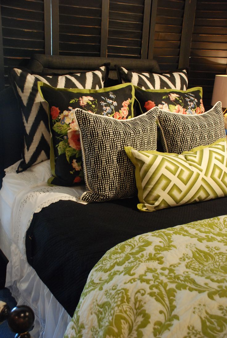 Nell Hill's Bedding | Opposites Attract: 5 Secrets of High-Contrast Decorating