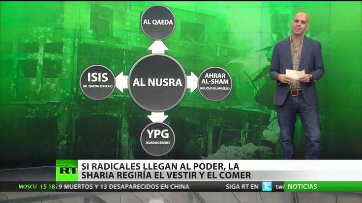 La ley islámica, la 'sharía', ya ha comenzado a implantarse en algunos puntos de Siria bajo el control del Frente Al Nusra. Aparecen regulaciones sobre la vestimenta de las mujeres y se prohíbe escuchar música.