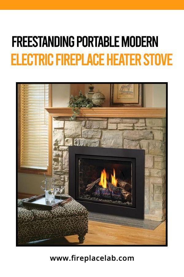 Freestanding Portable Modern Electric Fireplace Heater Stove Best Electric Fireplace Stove Fireplace Modern Electric Fireplace