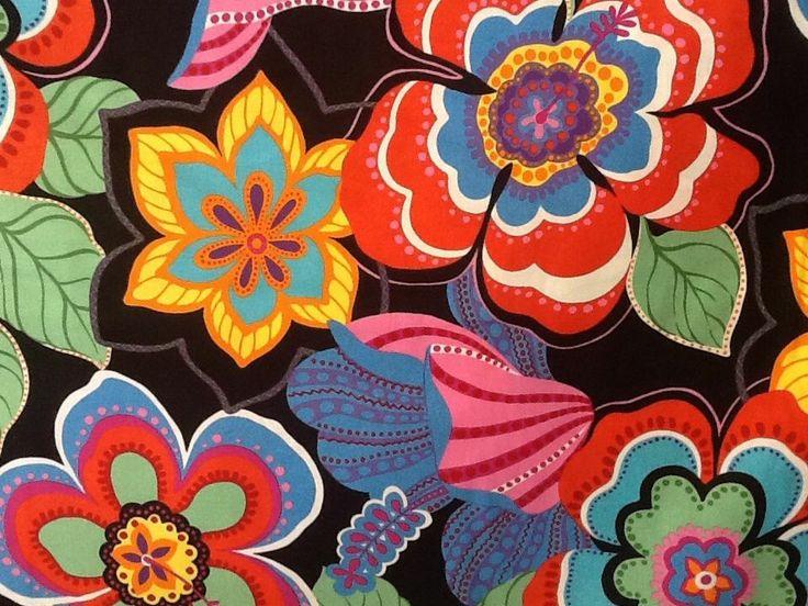 Oop Alexander Henry Bolero Mexican Fiesta Floral Fabric On