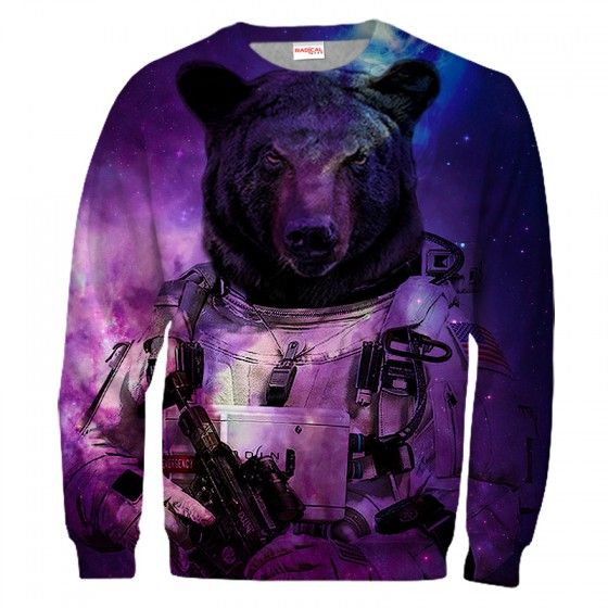 GALACTIC BEAR Sweatshirt