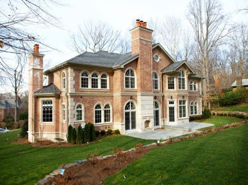 Best 25 colonial mansion ideas on pinterest georgian for Nj house builders