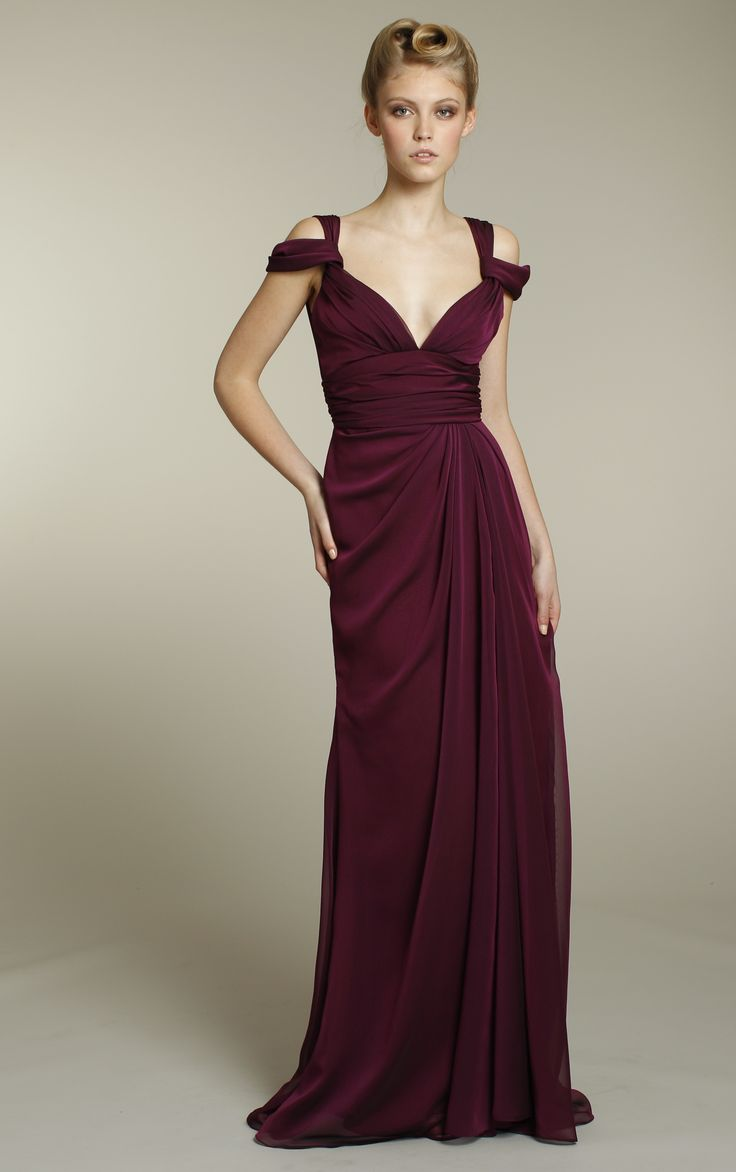 57 best maroon bridesmaids dresses images on pinterest long chiffon bridesmaids dress in rich maroon color for maroon themed wedding ombrellifo Choice Image