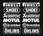 cool 1x Set Nr.3 (12 Aufkleber weiss ,Farbwahl) PIRELLI AKRAPOVIC Tuner Logo 16cm Decal Tuning Aufkleber Sticker Auto Motorrad Pick Up Check more at https://motorrad.cf/produkt/1x-set-nr-3-12-aufkleber-weiss-farbwahl-pirelli-akrapovic-tuner-logo-16cm-decal-tuning-aufkleber-sticker-auto-motorrad-pick-up/