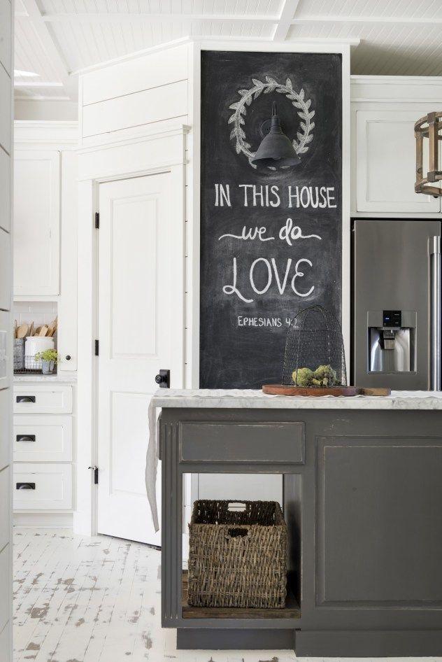 Modern Farmhouse By Beautiful Chaos Kitchen Blackboard