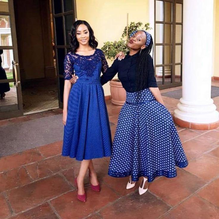 Cinderella Shweshwe Dress: @matu.setume #tswanafied #leteisi #seshweshwe #ankara