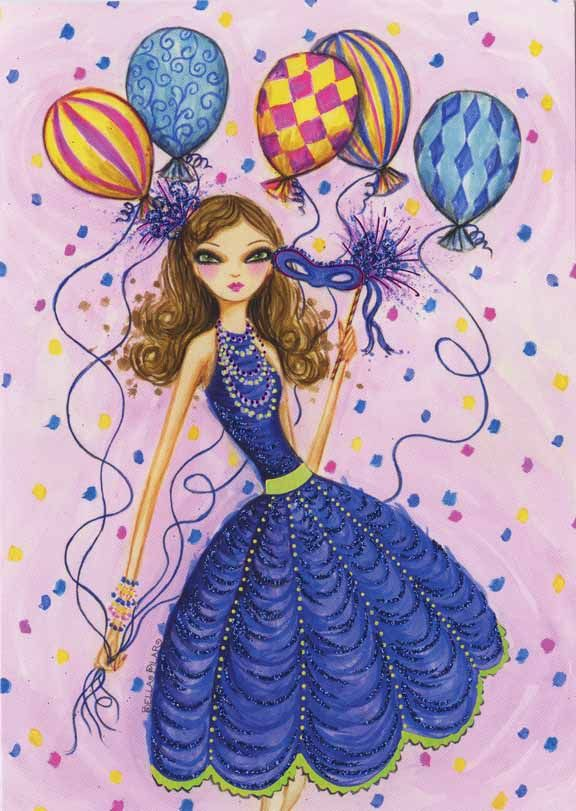 Bella Pilar › Birthday Balloons