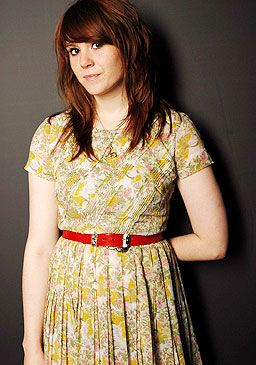 Kate Nash, love that hair color!!!