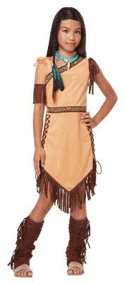 Child Native American Princess Costume