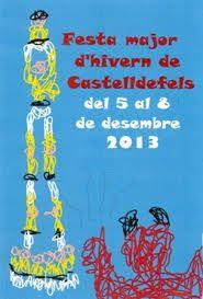 festa major d'hivern de castelldefels