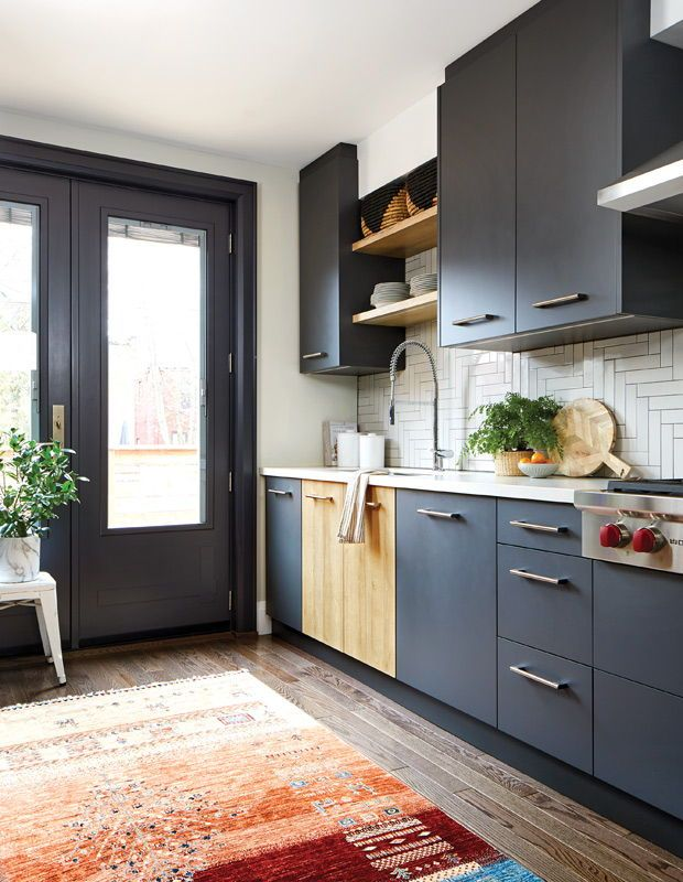 this narrow galley kitchen makes the most of every square