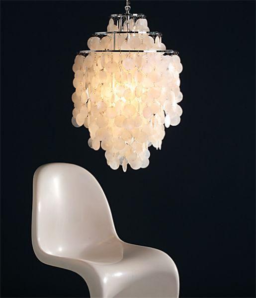 Schelpenlamp nieuwe uitvoering van een scandinavische for Lampen scandinavian design