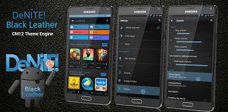 CM12 Theme Black Leather Blue v1.64  Jueves 29 de Octubre 2015.By : Yomar Gonzalez ( AndroidfastApk )   CM12 Theme Black Leather Blue v1.64 Requisitos: 5.0  Descripción: Recién actualizado para Android 5.1 Lollipop este Denite! aprovecha al máximo las nuevas características Lollipop! Es todo acerca de los detalles con Denite! Temas ... hasta las marcas animadas de verificación botones de radio y los interruptores! Denite! - Una versión con estilo oscuro de Android. Qué es temáticas:  Marco…