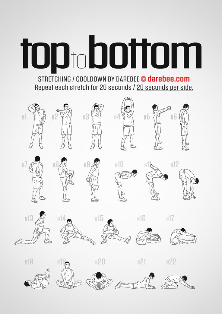 Top to Bottom Workout - Cool Down