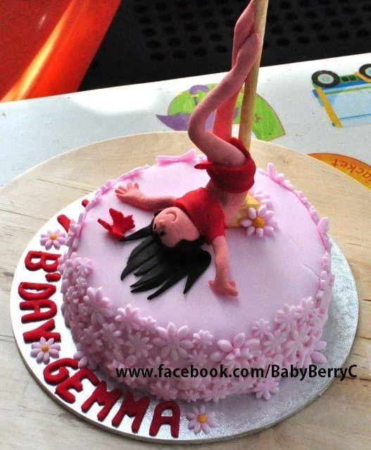 48 best images about Pole Dance Cake on Pinterest Pole ...
