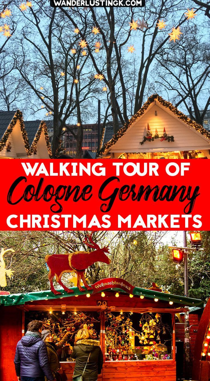 Free Walking Tour of the Cologne Christmas Markets with Map ...